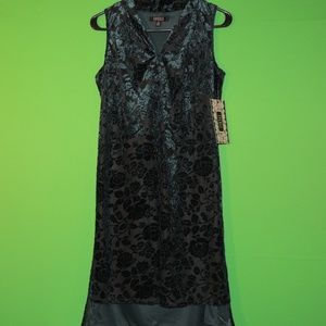 Spense Womens 6 Vivid Vine Sleeveless Dress NEW